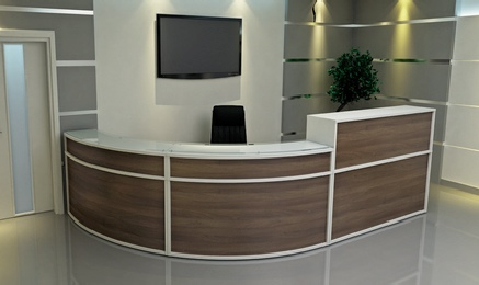 Receptiv GlassFlow Reception Furniture